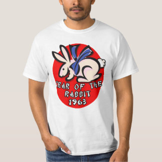 1963 Year of the Rabbit Apparel and Gifts Tee Shirt