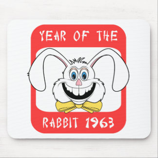 1963 Year of The Rabbit Gift Mouse Pad