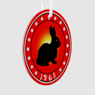 1963 Year of the Rabbit Ornament