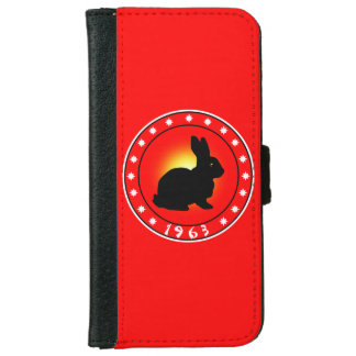 1963 Year of the Rabbit iPhone 6 Wallet Case