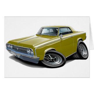 1964-65 Cutlass Gold Car Card