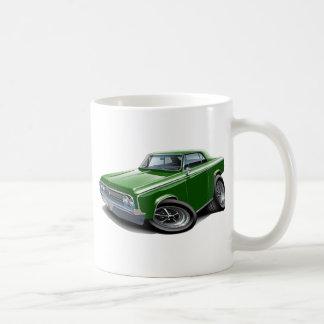 1964-65 Cutlass Green Car Classic White Coffee Mug