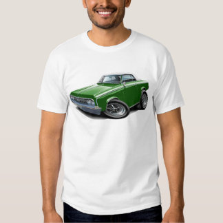 1964-65 Cutlass Green-White Car T-shirt