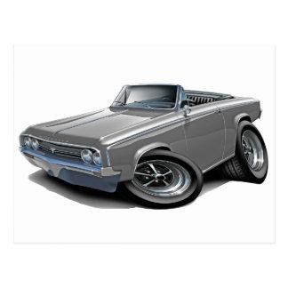 1964-65 Cutlass Grey Convertible Postcard