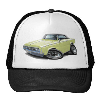1964-65 Cutlass Pale Yellow-Black Car Trucker Hat