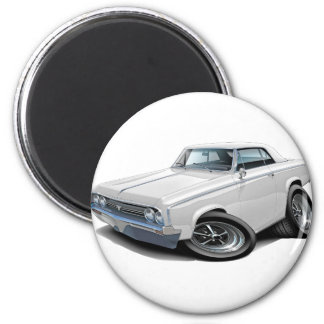 1964-65 Cutlass White Car Magnet