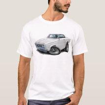 1964-65 Cutlass White Car T-Shirt