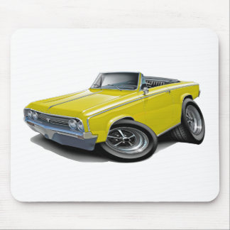 1964-65 Cutlass Yellow Convertible Mouse Pad