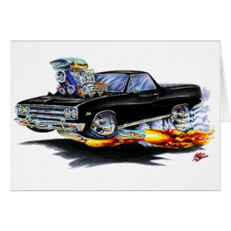1964-65 El Camino Black Truck Greeting Card