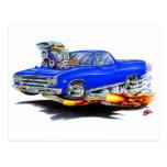 1964-65 El Camino Blue Truck Postcards