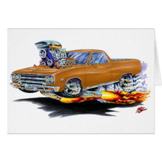 1964-65 El Camino Brown Truck Greeting Card