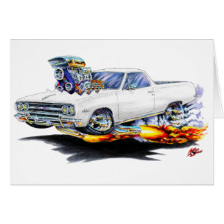 1964-65 El Camino White Truck Greeting Cards