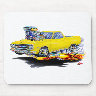1964-65 El Camino Yellow Truck Mouse Pad