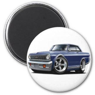1964-65 Nova Dk Blue Car 2 Inch Round Magnet