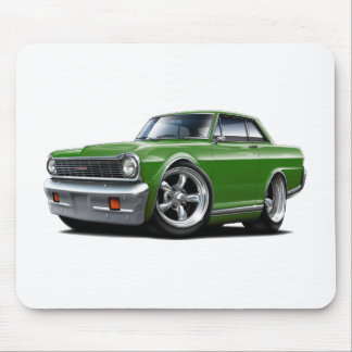 1964-65 Nova Green Car Mouse Pad