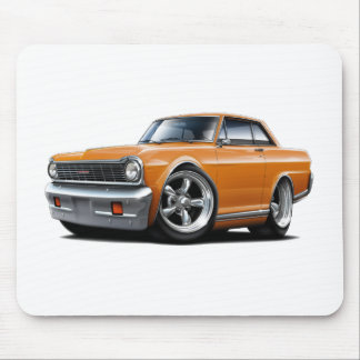 1964-65 Nova Orange Car Mouse Pad