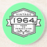 1964 Aged To Perfection Drink Coaster