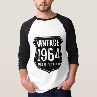 1964 Aged to perfection tshirt for 50 year old men