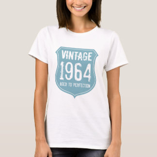 1964 aged to perfection tshirt for men and women