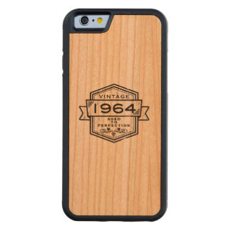 1964 Aged To Perfection Carved® Cherry iPhone 6 Bumper