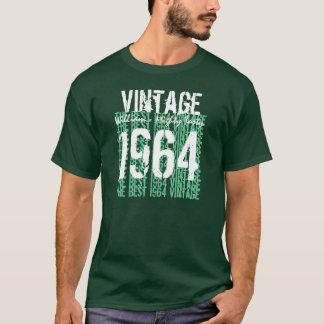 1964 Best Vintage Year Birthday Tee Hues of Green