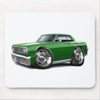 1964 Chevelle Green Car Mouse Pad