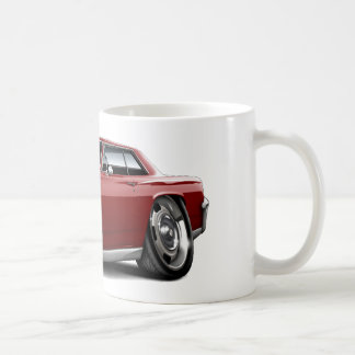 1964 Chevelle Maroon Car Classic White Coffee Mug
