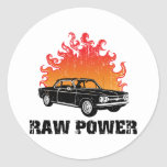 1964 Chevrolet Corvair Classic Round Sticker