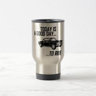 1964 Chevrolet Corvair 15 Oz Stainless Steel Travel Mug