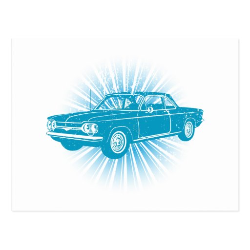 1964 Chevrolet Corvair Post Card