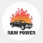 1964 Chevrolet Corvair Round Sticker