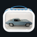 """1964 Chevrolet Corvette Lunch Box<br><div class=""""desc"""">An icon in the American Auto Industry. The Corvette is THE American muscle car. The era that started what has become the supercar killer for a quarter of the price. There isn&#39;t a classic car lover around that doesn&#39;t love and envy this embodiment of the American dream.</div>"""