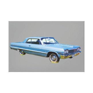 1964 Chevrolet Impala Antique Car Canvas Print