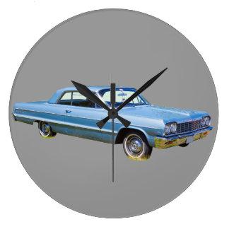1964 Chevrolet Impala Antique Car Large Clock