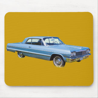 1964 Chevrolet Impala Antique Car Mouse Pad