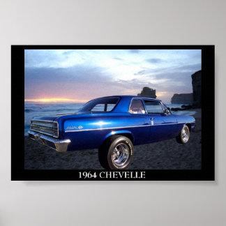 1964 Chevy Chevelle Print