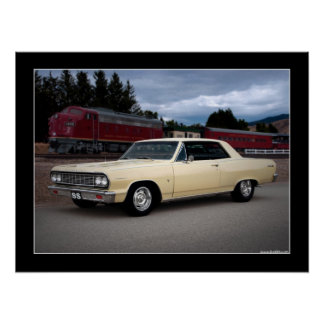 1964 Chevy Chevelle SS Muscle Car Poster