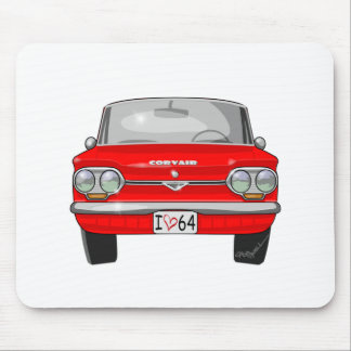 1964 Corvair Front View Mouse Pad
