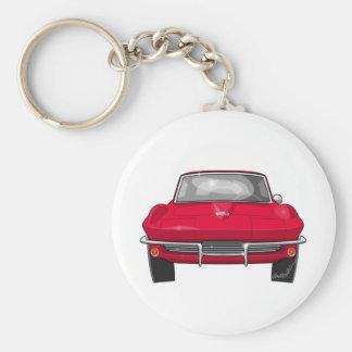 1964 Corvette Stingray Front Keychain