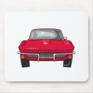 1964 Corvette Stingray Front Mouse Pad