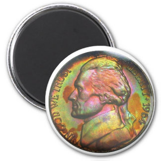 1964-D Jefferson Nickel Magnet