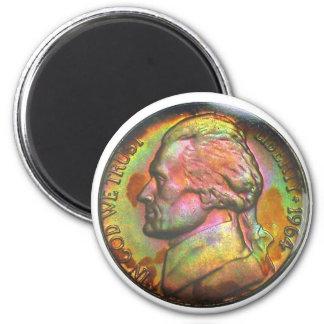 1964-D Jefferson Nickel Magnet