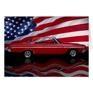 1964 Dodge Polara 500 Tribute Card
