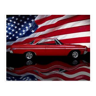 1964 Dodge Polara 500 Tribute Postcard