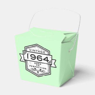 1964 envejecido a la perfección cajas para regalos