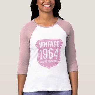 1964 envejeció a las mujeres del cumpleaños 5oth camiseta