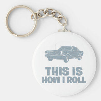 1964 Ford Mustang Fastback Keychain