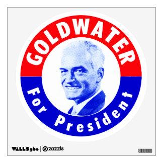 1964 Goldwater for President Room Sticker