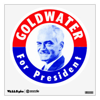1964 Goldwater for President Wall Sticker