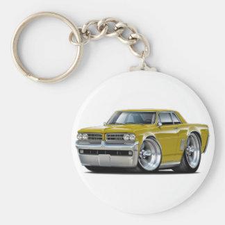 1964 GTO Gold Car Keychain